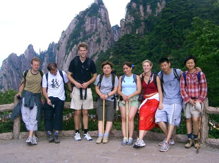 Our very international Huangshan expedition group (from ...